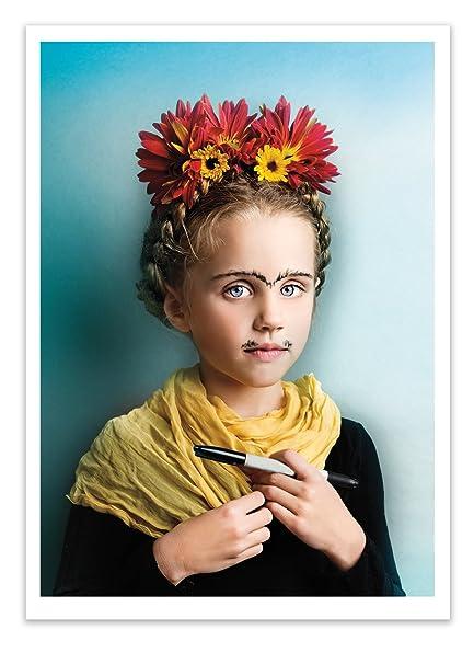 Amazon Birthday Greeting Card Little Frida Kahlo Artist Palm