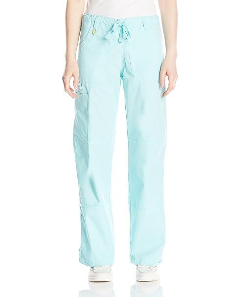 44c586005f4e3 Amazon.com  WonderWink Women s Petite Origins Tango Scrub Pant  Clothing