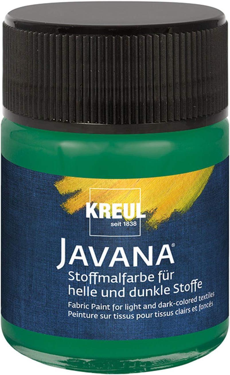 Pintura plástica Kreul, 50 ml, color verde oscuro: Amazon.es ...