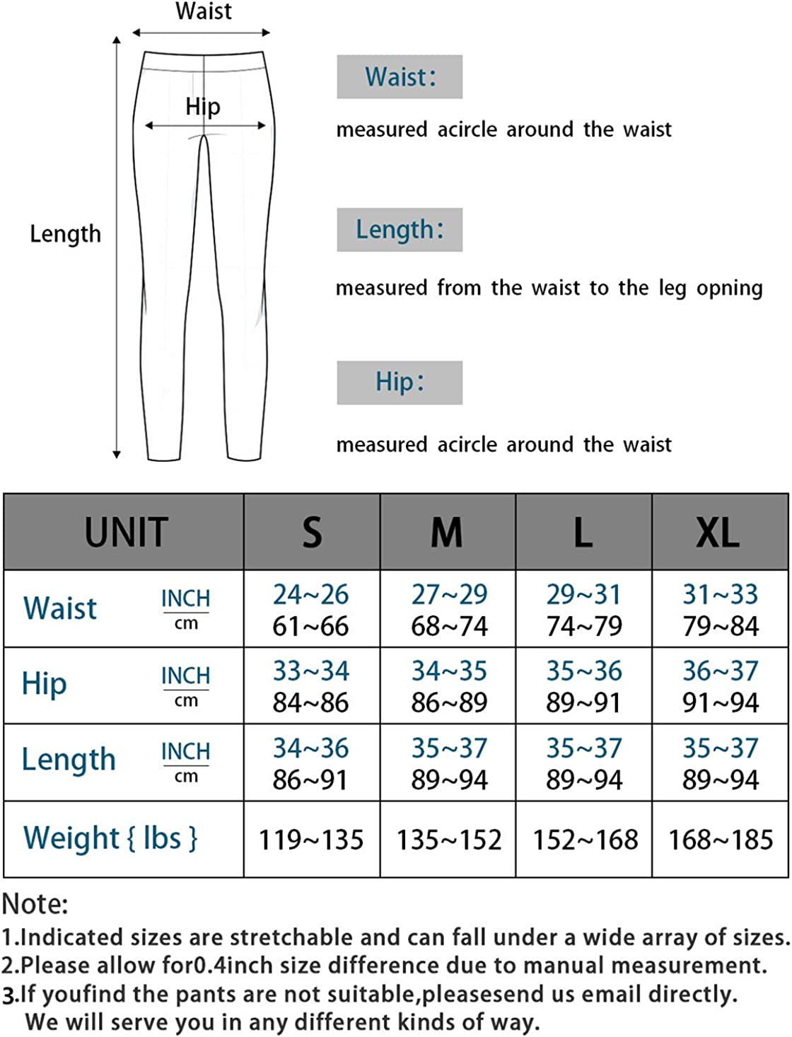 Lynfun High Waist Yoga Pants with Pockets Workout Pants for Women 4 Way Stretch Yoga Leggings with Pockets/… Tummy Control