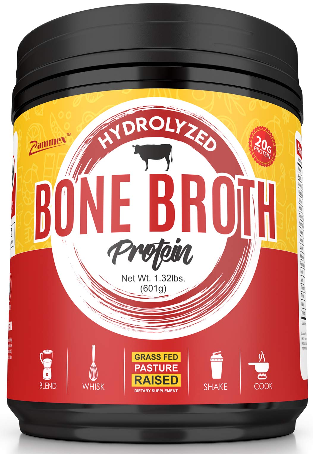 Hydrolyzed Bone Broth Protein Powder