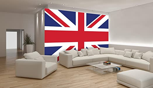 Union Jack British Flag Wallpaper Mural Part 37