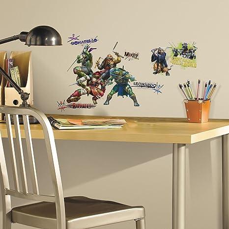 Amazon.com: RoomMates rmk2672scs Teenage Mutant Ninja ...