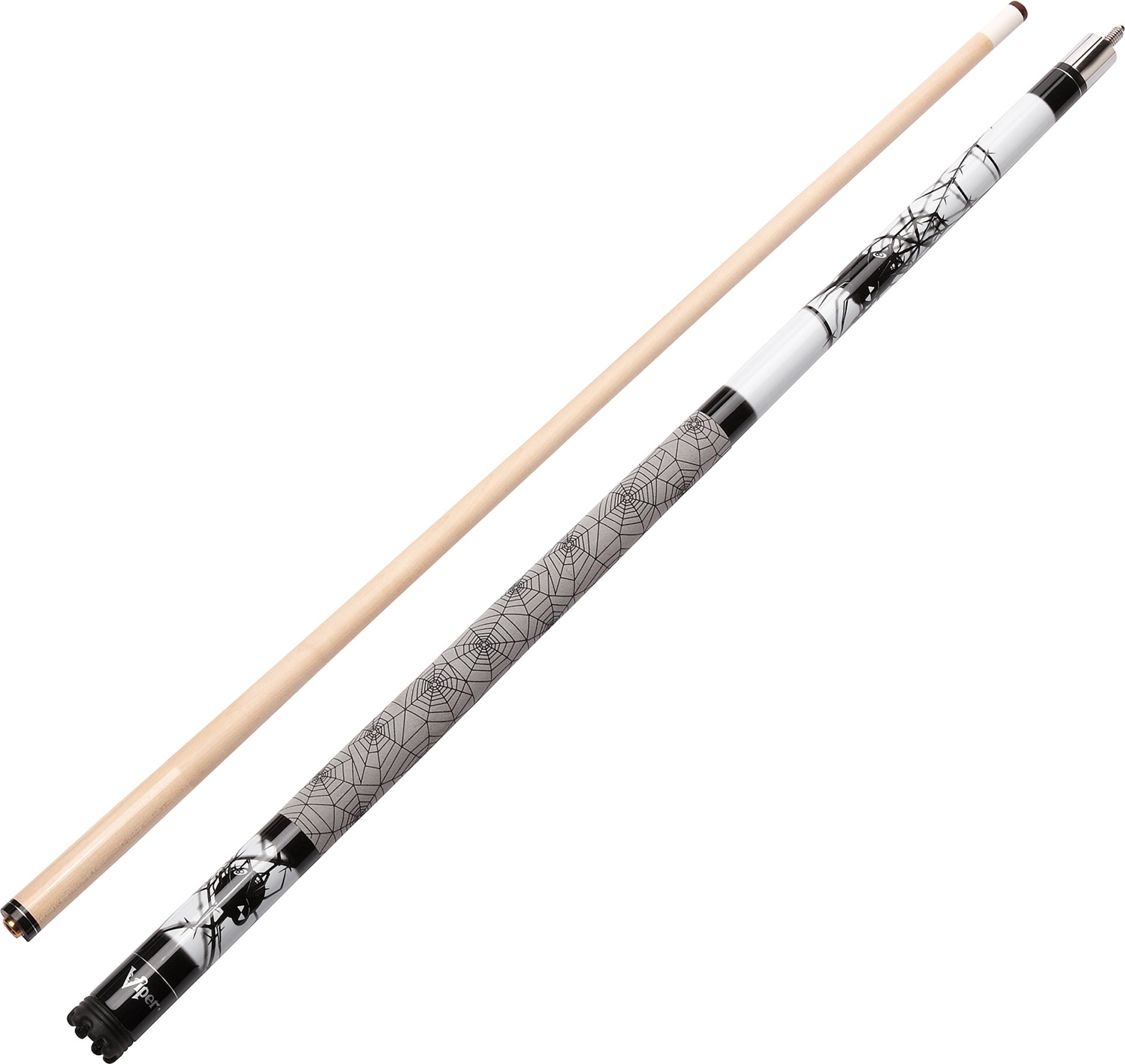 Viper Revolution 58'' 2-Piece Billiard/Pool Cue, Spider, 21 Ounce