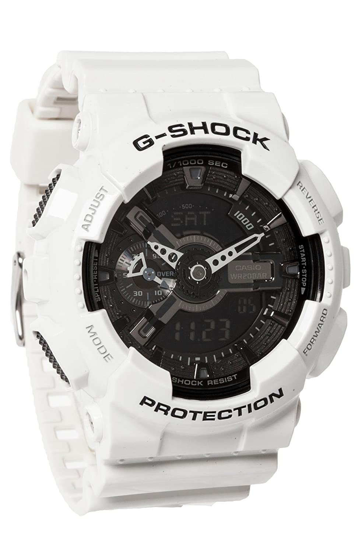 g shock garish ga 110 watch in white color o s amazon co uk g shock garish ga 110 watch in white color o s amazon co uk watches
