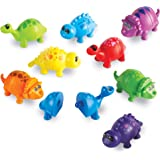 Learning Resources LER6708 Snap n Learn Dinos Set (18 Piece)