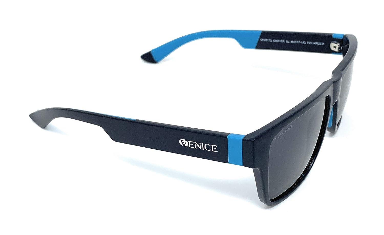 Gafas de sol Polarizadas Venice moda hombre 2019 - VE68172 lentes oscuras + colores gris, azul y rojo