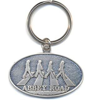 Amazon.com: Llavero con The Beatles Abbey Road crossing ...