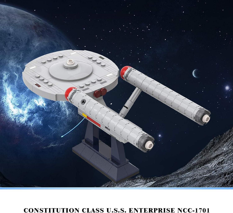 MOC Star Trek Enterprise NCC 1701 Model Kits Building Block Bricks Lego Toys