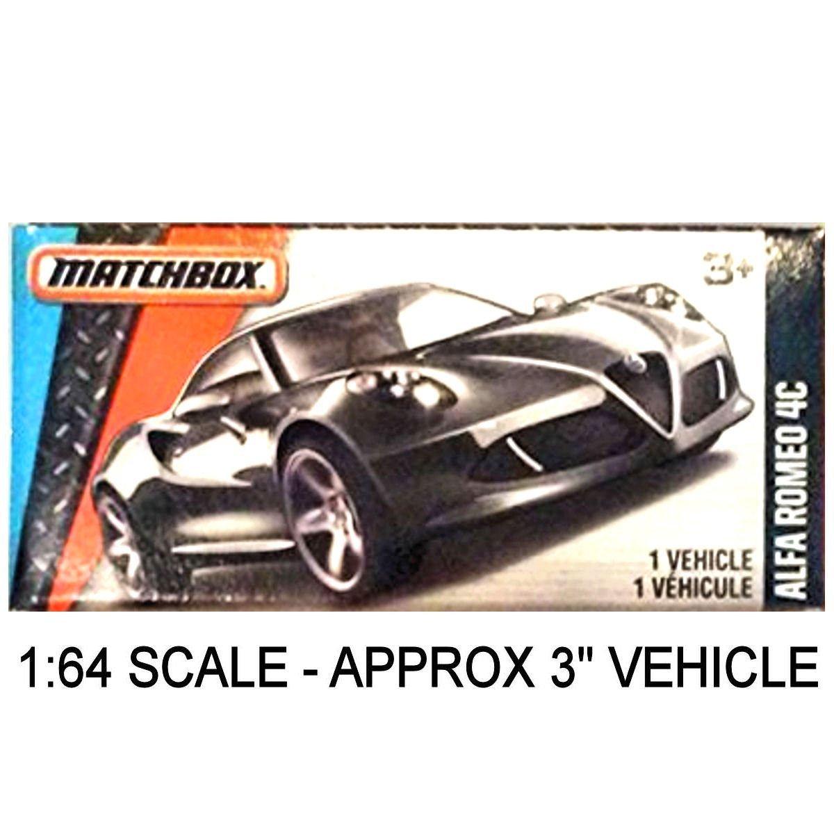 Matchbox Power Grabs Alfa Romeo 4C Sports Car