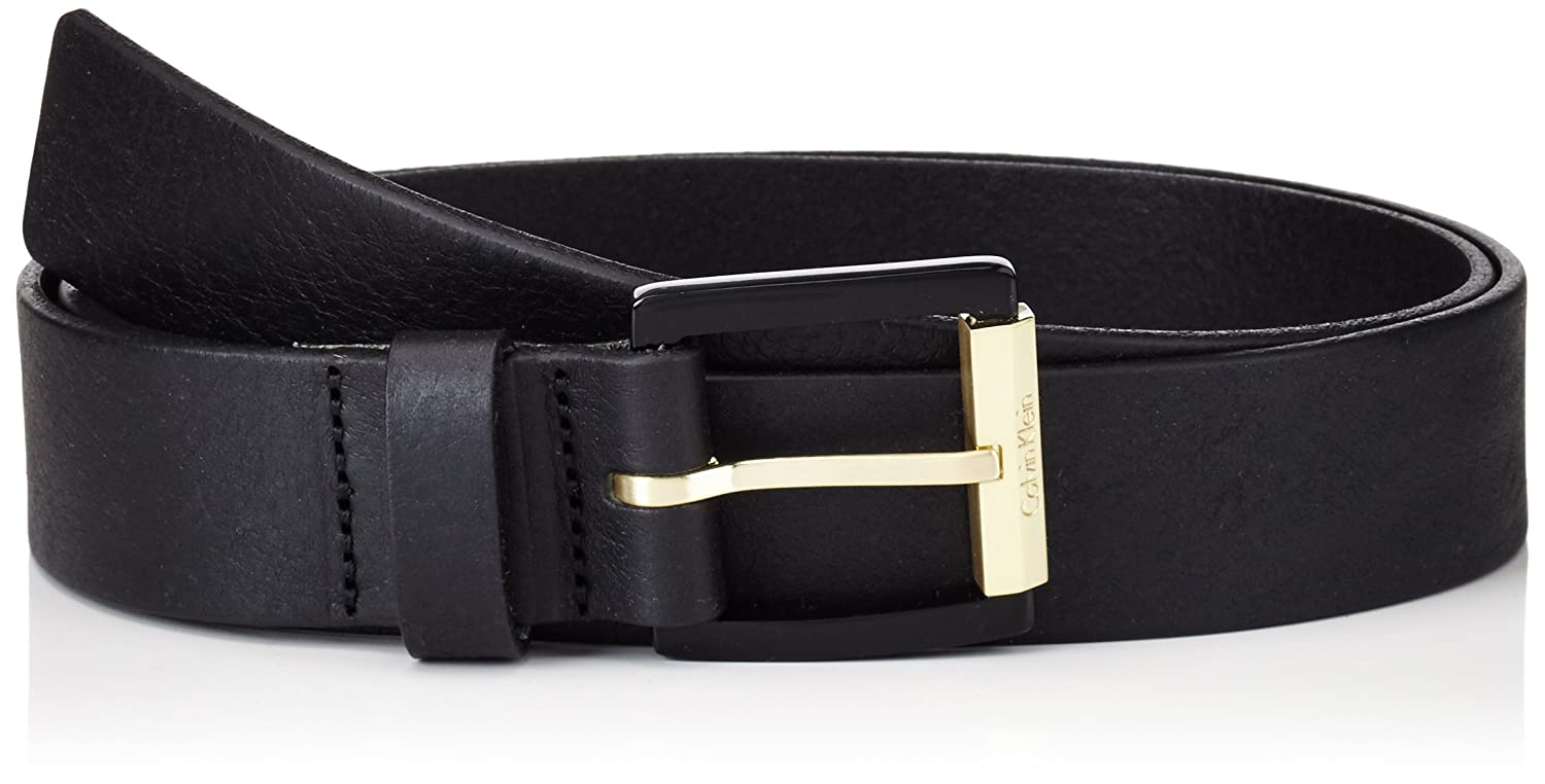 Calvin Klein Damen Gürtel Resin Buckle Belt Giftbox