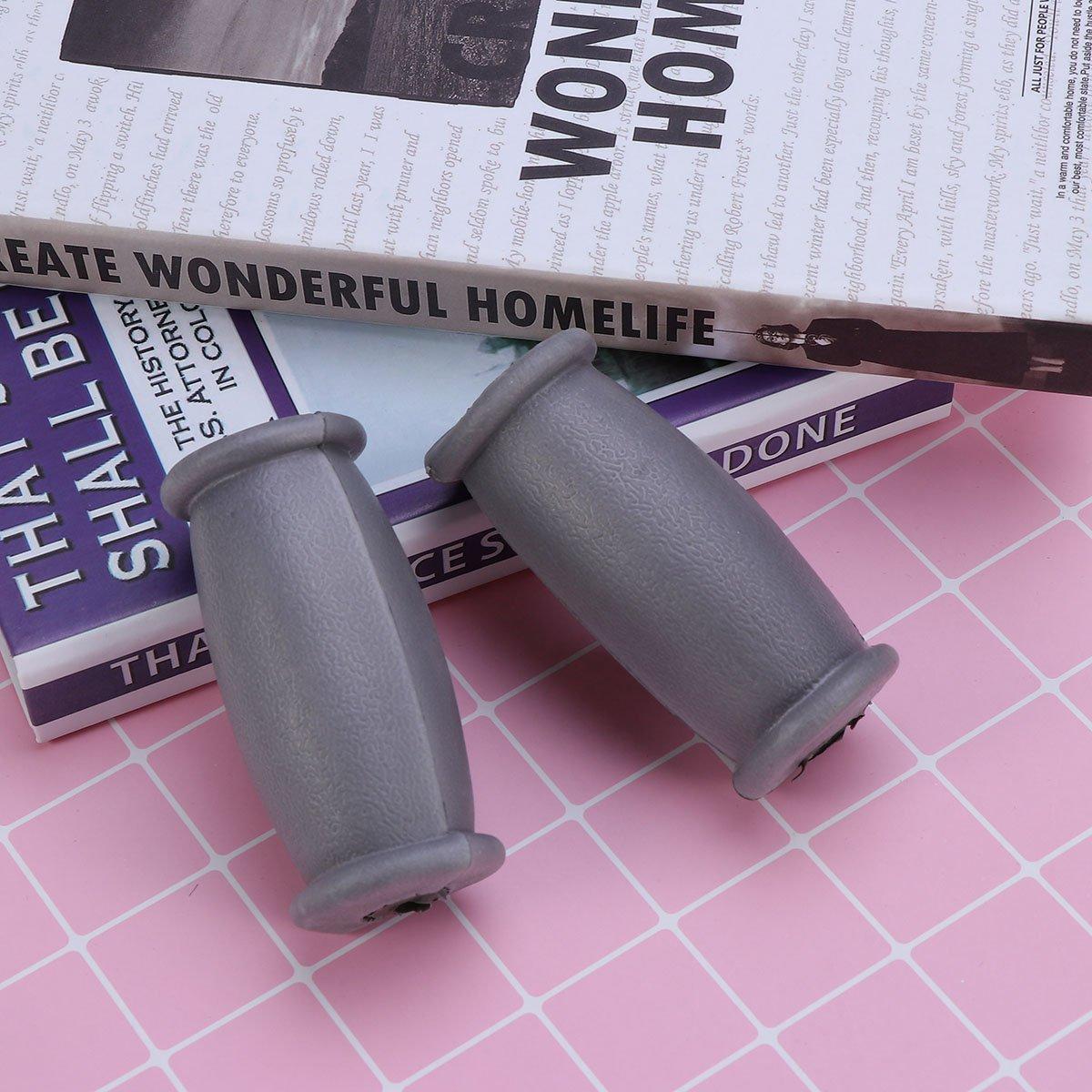 Healifty Soporte de muletas de repuesto para muletas de goma ...