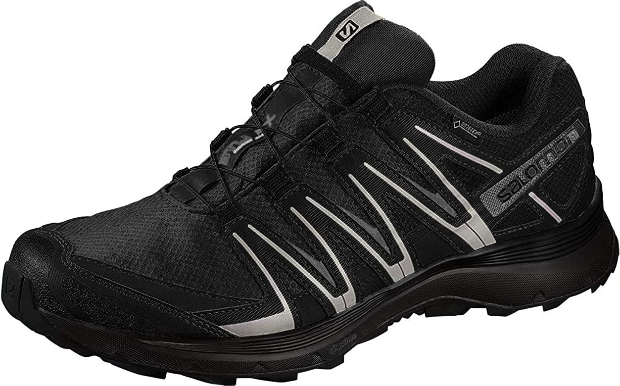 Salomon XA Lite GTX, Zapatillas de Trail Running para Hombre, Negro (Black/Quiet Shade/Monument), 44 EU: Amazon.es: Zapatos y complementos