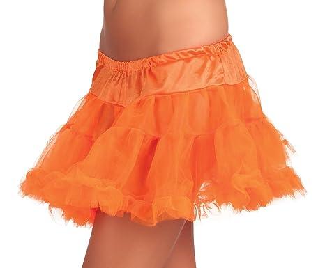 promo code bdb2a 50685 Boland- Gonnellina Petticoat per Adulti, Arancione, Taglia Unica, 01787