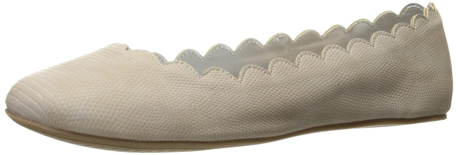 Unlisted Women's Whole Number Ballet Flat B01MZ4PH1P 8 B(M) US|Light Grey