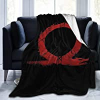 Super Soft Light Weight Throw Blanket God of War-Omega Summer Quilt for Bed Couch Sofa 50