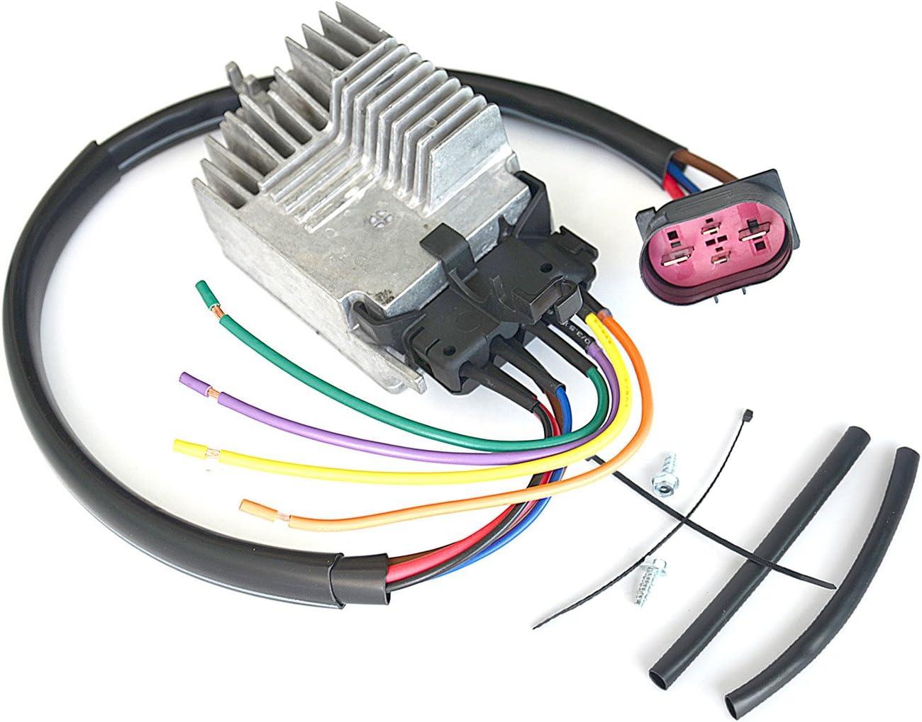 Radiator Fan Control Unit Module Fit For AUDI A4 Quattro A4 A6 Quattro 8E0959501AG 8E0959501AB 8E0959501G 8E0959501K