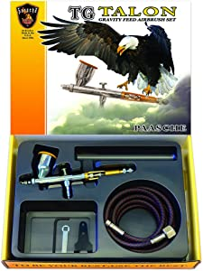 Paasche Airbrush TG-Set Double Action Gravity Feed Airbrush
