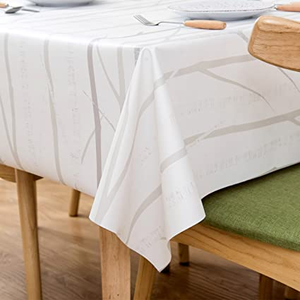 Exceptionnel LOHASCASA Square Vinyl Oilcloth Tablecloth Water Resistant/Oil Proof  Wipeable PVC Heavy Duty Plastic