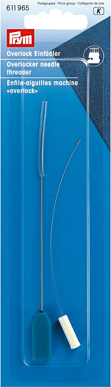 Prym 611965 Overlock-Enhebrador, plata, 19 mm