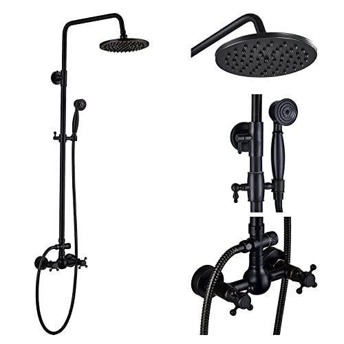 Exposed Pipe Shower System Amazon Com