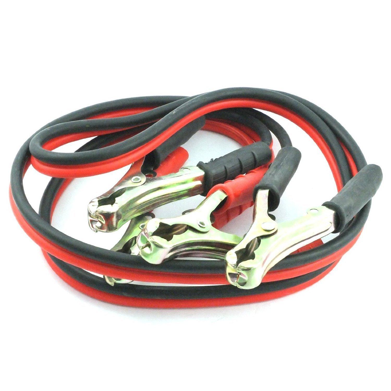 MasterStor salto conduce Booster cavi con pesanti clip coccodrillo rivestito di zinco per auto Diesel, Jump Start veicoli, auto, furgoni con batterie scariche (Confezione da 1) Câbles d' appoint conduit