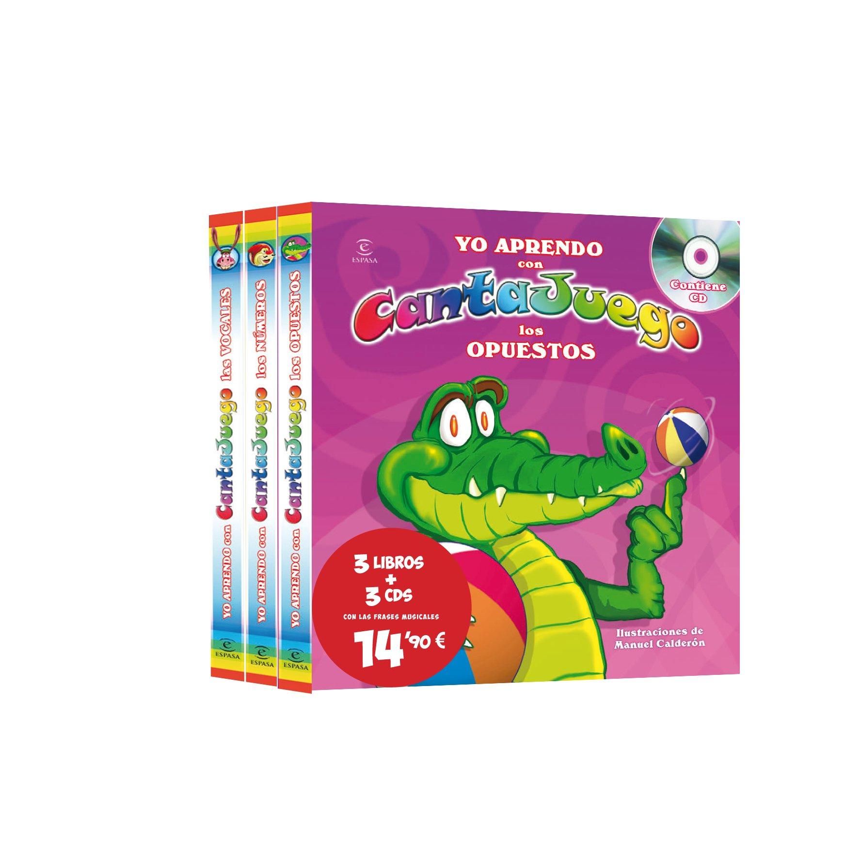 CANTAJUEGO (3 LIBROS + 3 CDS)ESPASA.: Agapea: 9788467038231 ...
