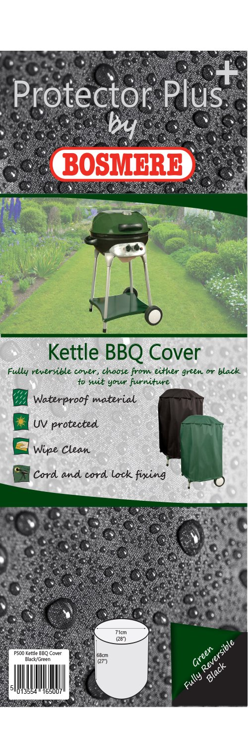 Bosmere D700 STORM BLACK Kettle BBQ Cover Bosmere Products Ltd