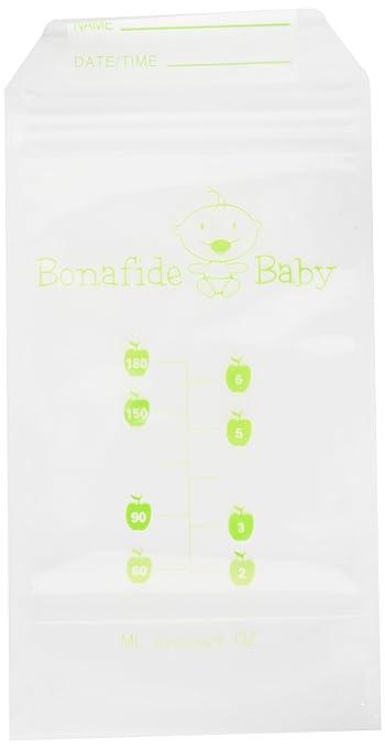 Amazon.com: bonafide bebé leche materna bolsas de ...