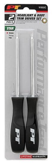 Amazon.com: Performance Tool W902C Headlight and Body Trim Screwdriver Set: Automotive