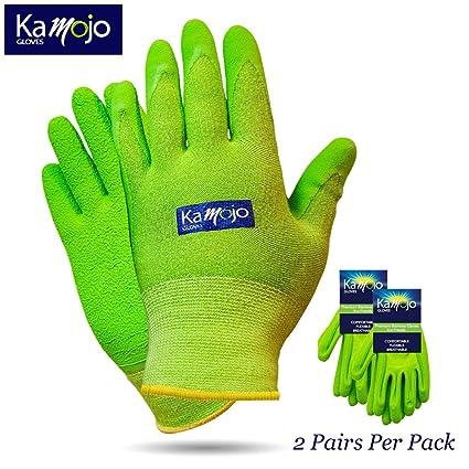 9d9123e0203 Bamboo Gardening Gloves for Women   Men (2 pairs pack) Ultra-Premium