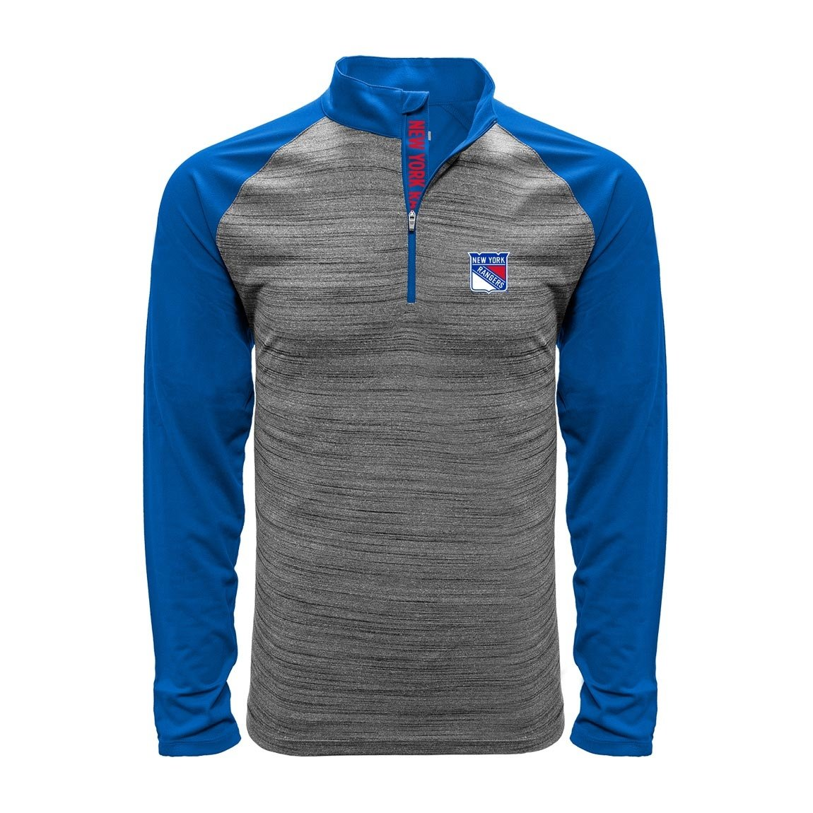 Levelwear New York Rangers Vandal 1/4 Zip NHL Shirt