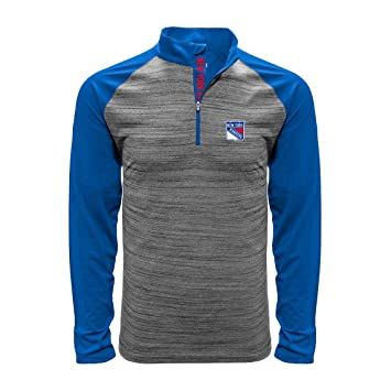 half off 7bf89 c063f Levelwear New York Rangers Vandal 1/4 Zip NHL Shirt, S ...
