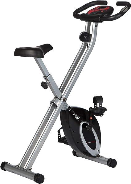 Ultrasport F-Bike Bicicleta estática de Fitness, Aparato doméstico, Plegable con Consola y sensores de Pulso en Manillar, sin Respaldo, Unisex, Negro: Amazon.es: Deportes y aire libre