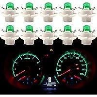 Qasim 10x LED T5 B8.4D COB Bombillas 1SMD