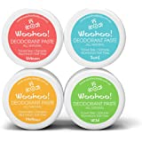 Woohoo! Body All-Natural Deodorant Paste (4 Pack, Trial Size) …