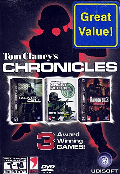 Amazon com: Ubisoft Tom Clancy's PC DVD-Rom Triple Game Pack