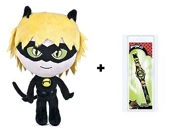 """Prodigiosa, Las aventuras de Ladybug - Pack Reloj Digital de """"Cat Noir"""""""