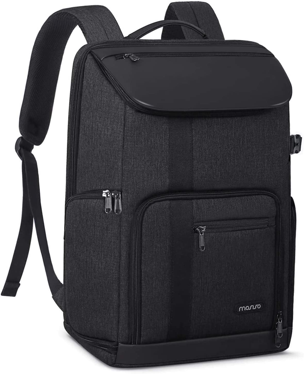 MOSISO Camera Backpack 17 inch, DSLR/SLR/Mirrorless Case Large Men/Women Photography Camera Bag with Laptop Compartment&Tripod Holder&Rain Cover Compatible with Canon/Nikon/Fuji/MacBook, Space Gray
