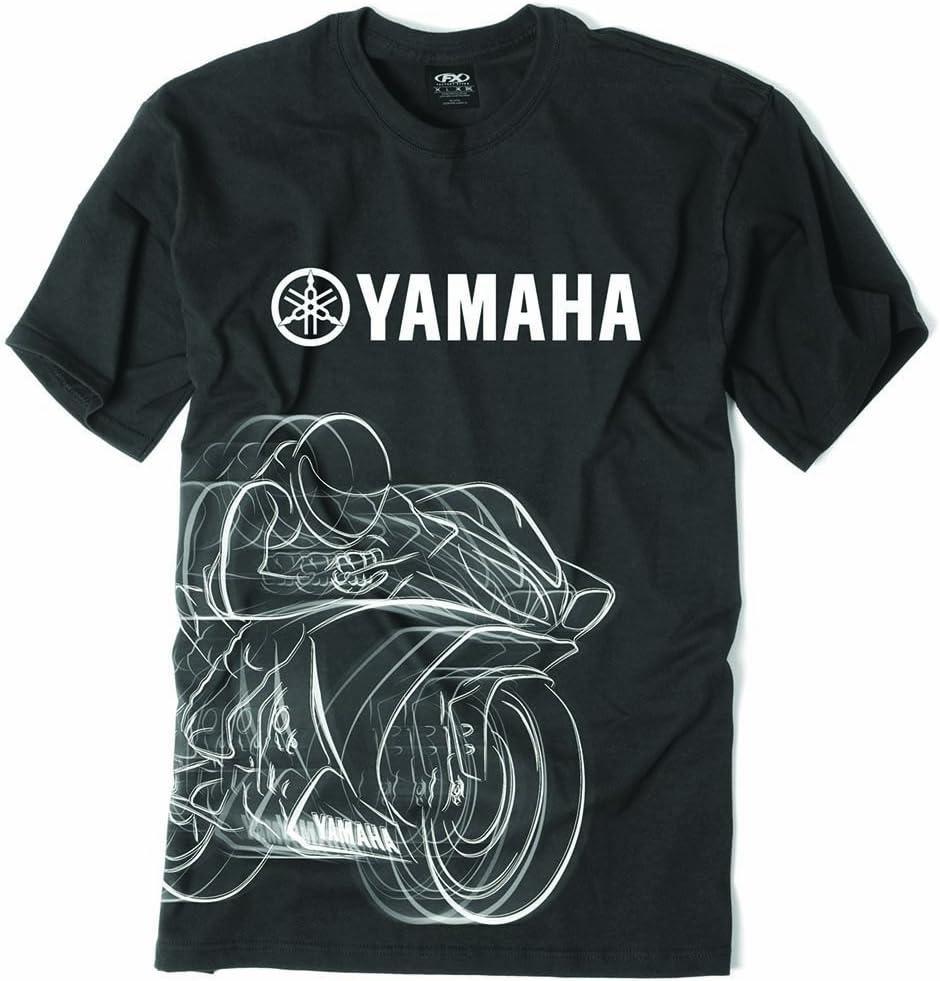 Factory Effex Yamaha R1 Black Sweatshirt Hoodie Pullover Adult Licensed NEW