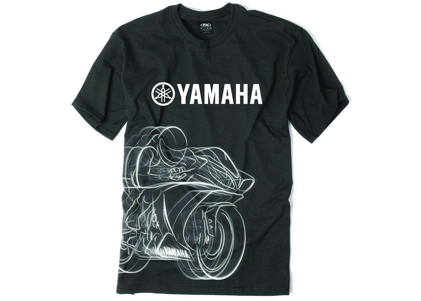 0927cf452ff Amazon.com  Factory Effex 16-88282 YAMAHA  R1 T-Shirt (Black