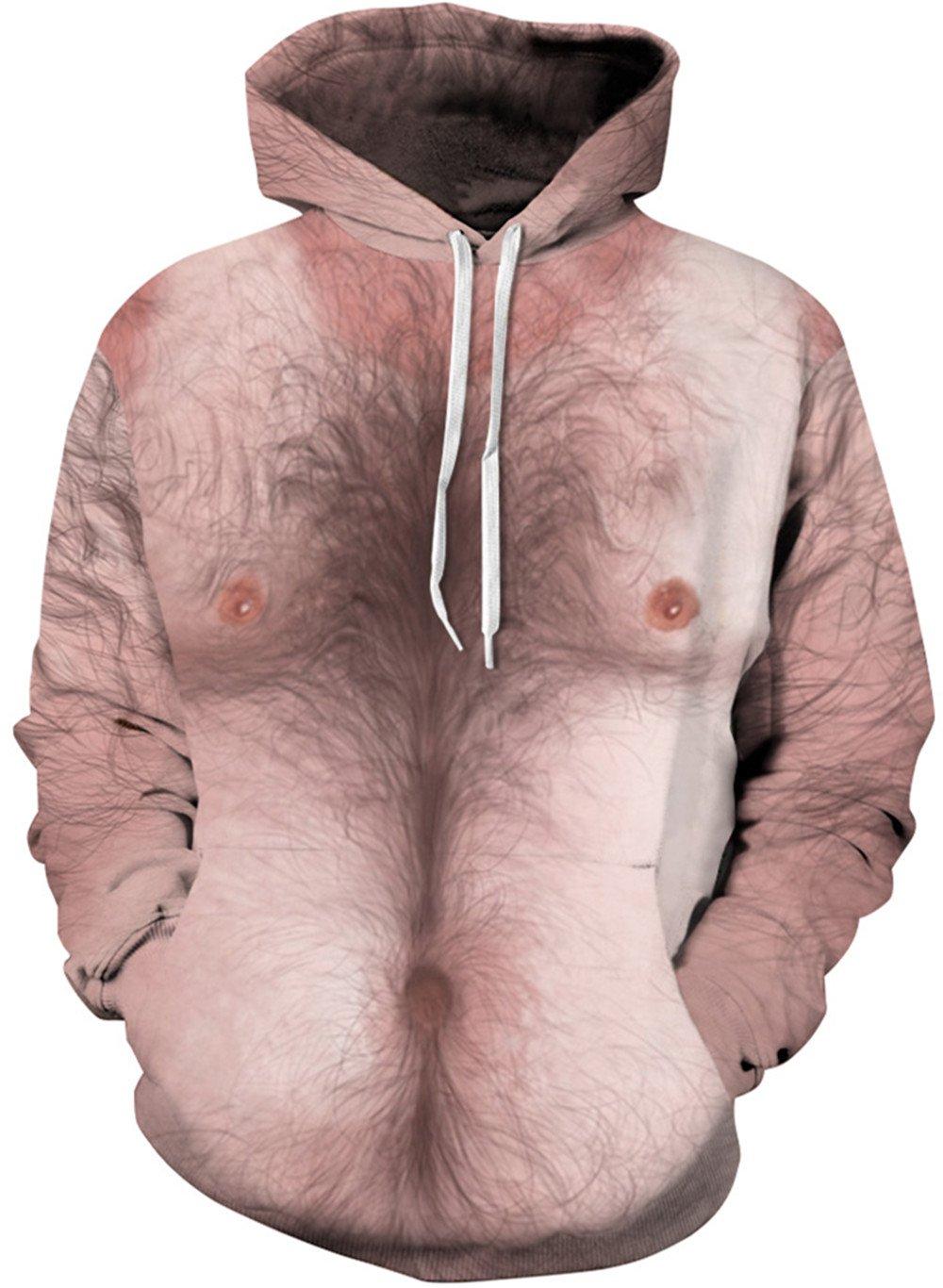 Imbry Unisex 3D Animal Print Pullover Hoodies Sweatshirts CMSTCQYDM