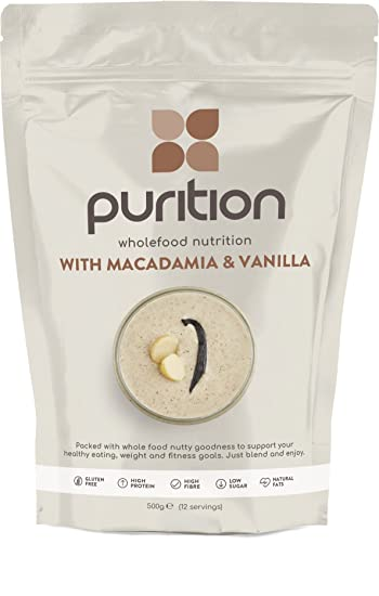 Wholefood Macadamia & Vanilla Protein Shake (1.1lbs) Ideal for weight loss & post