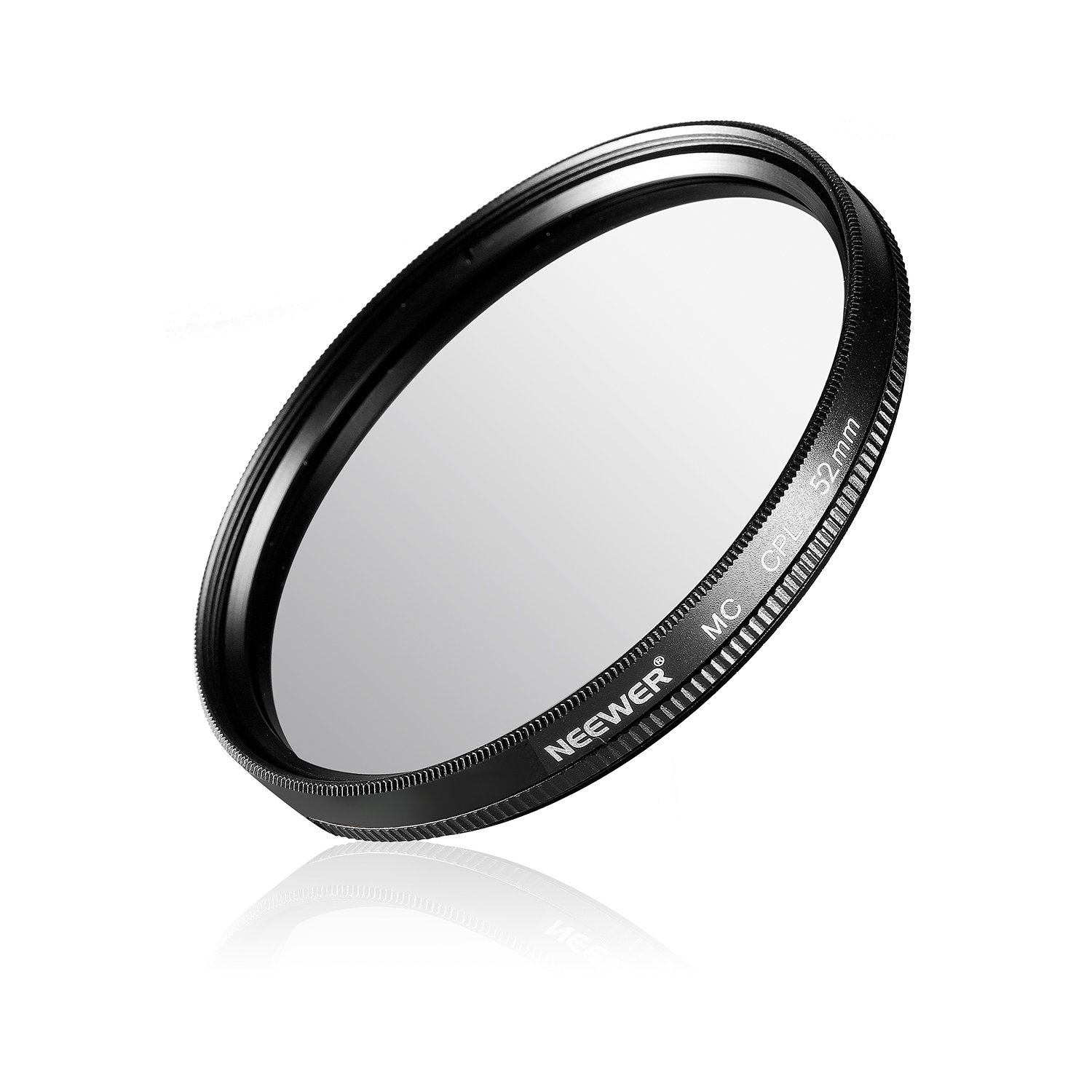 Neewer® 77MM CPL Circular Polarizer Filter Multi-Coated with Microfiber Cleaning Cloth for Camera Lens with a 77mm Filter Thread