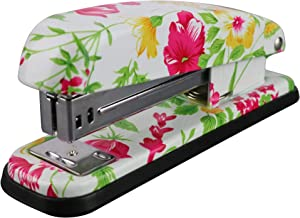 VIBRANZ-LAB Staplers Office Stapler Heavy Duty Stapler Cute Stapler Office Supplies for Desk Stapler Standard Pretty Accessory Commercial Business Decorative Full Desktop Office Hand Stapler Small