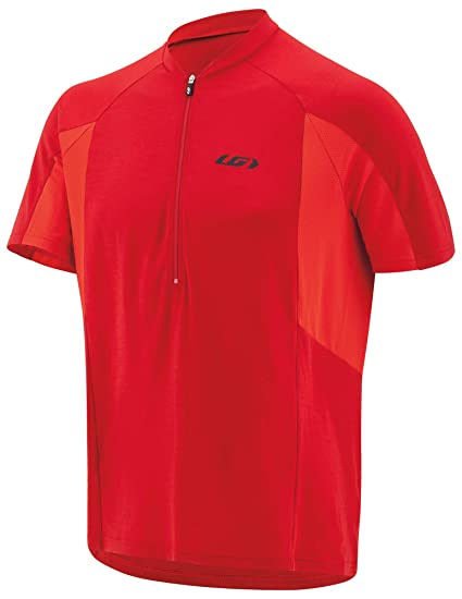 Louis Garneau - Mens Connection Lightweight, Quick Dry, Short Sleeve Cycling Jersey, Barbados