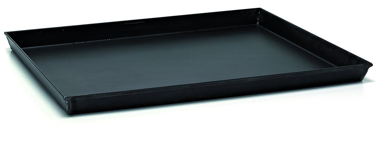 40 cm Ballarini Professionale 3044 Teglia Rettangolare con Angoli Svasati Ferro Blu Nero