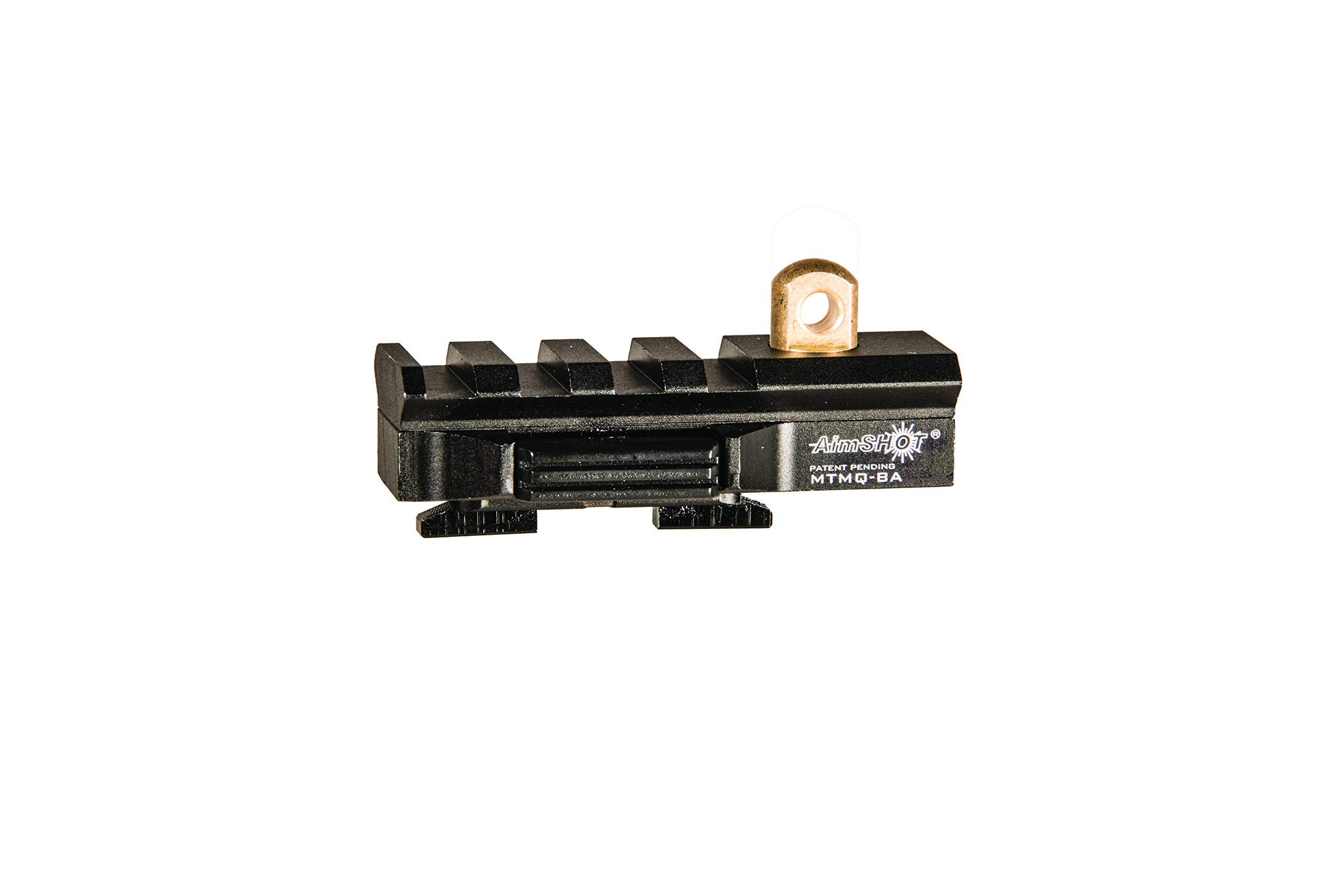 AimShot M-Lok Quick Release Bipod Adapter w/Rail by AimShot