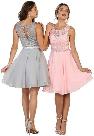 d5968bd9df May Queen Formal CDress Shops FDS1521 Graduation Short Semi Formal Dress (4