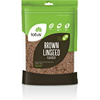 Lotus Brown Linseed Flaxseed 500 g, 500 g